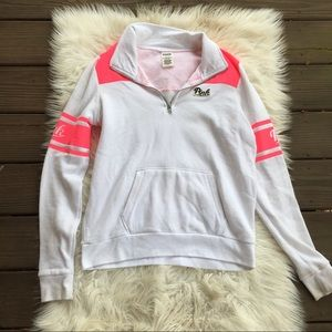VS PINK White Pullover